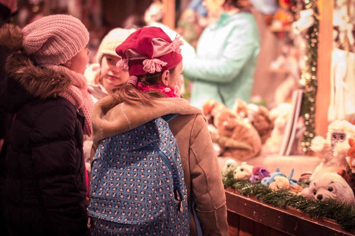 Wien – Weihnachtsmarkt, People